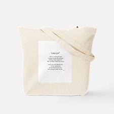 """""""Little Girl"""" Tote Bag"""