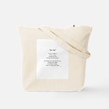 """No One"" Tote Bag"