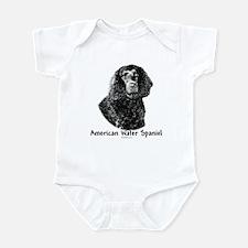 Water Spaniel Charcoal Infant Bodysuit