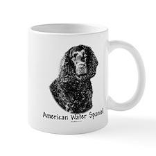 Water Spaniel Charcoal Mug