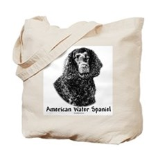 Water Spaniel Charcoal Tote Bag