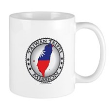 Taiwan Taipei LDS Mission Flag Cutout Map 1 Mug