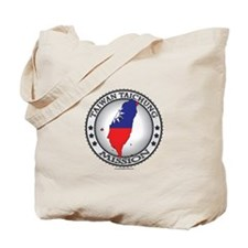 Taiwan Taichung LDS Mission Flag Cutout Map 1 Tote