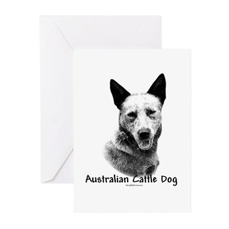 ACD Charcoal Greeting Cards (Pk of 10)