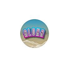 Aloha Mini Button (100 pack)