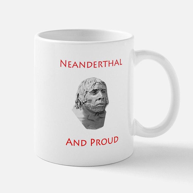 Neanderthal and Proud Mug