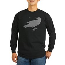 Grey Nevermore Raven T