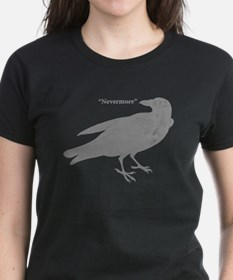 Grey Nevermore Raven Tee