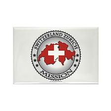 Switzerland Zurich LDS Mission Flag Cutout Map 1 R