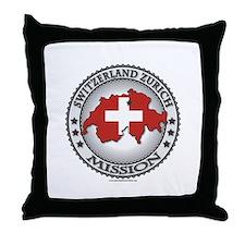 Switzerland Zurich LDS Mission Flag Cutout Map 1 T