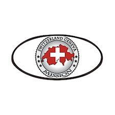 Switzerland Geneva LDS Mission Flag Cutout Map 1 P