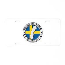 Sweden Stockholm LDS Mission Flag Cutout Map 1 Alu