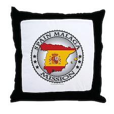 Spain Malaga LDS Mission Flag Cutout Map 1 Throw P