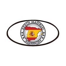 Spain Madrid LDS Mission Flag Cutout Map 1 Patches