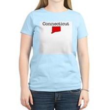 Connecticut Women's Pink T-Shirt