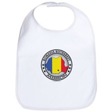 Romania Bucharest LDS Mission Flag Cutout Map 1 Bi