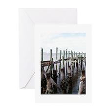 Old Fernandina Docks Greeting Card