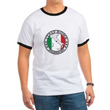 Italy Rome LDS Mission Flag Cutout Map 1 T-Shirt