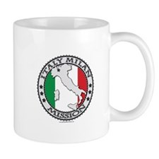 Italy Milan LDS Mission Flag Cutout Map 1 Mug