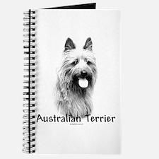 Australian Terrier Charcoal Journal