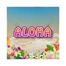 Aloha Queen Duvet