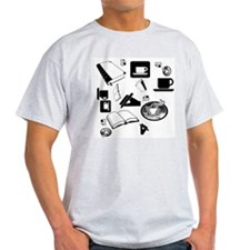 Books Coffee T-Shirt