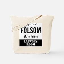 Property of Folsom Prison Tote Bag