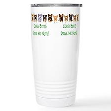 Cute Cardigan welsh corgi cartoon Travel Mug