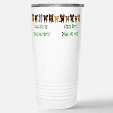 Cute Pembroke welsh corgis Travel Mug