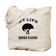 My Life Horse Riding Tote Bag
