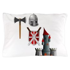 Of Knights in Shining Armor Pillow Case