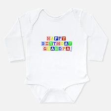 Happy Birthday Grandpa Body Suit
