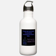 If God Did Not Exist - Voltaire Water Bottle