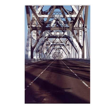 Empty Bay Bridge Postcards (Package of 8)