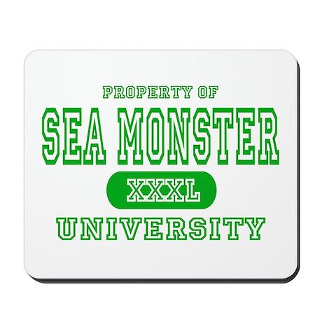 Sea Monster University Mousepad
