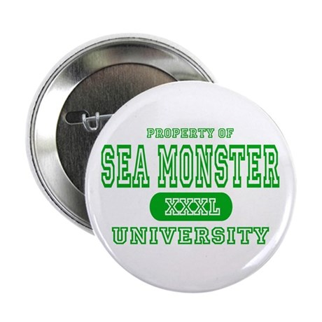 "Sea Monster University 2.25"" Button (10 pack)"