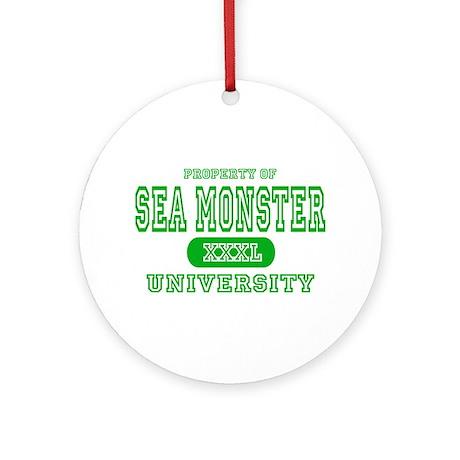 Sea Monster University Ornament (Round)