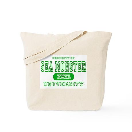 Sea Monster University Tote Bag
