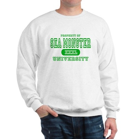 Sea Monster University Sweatshirt