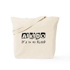Aikido Martial Arts Tote Bag