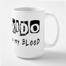 Aikido Martial Arts Large Mug