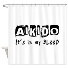 Aikido Martial Arts Shower Curtain