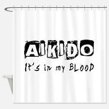Aikido Martial Arts Shower Curtain