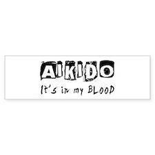 Aikido Martial Arts Bumper Sticker