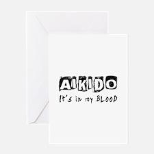 Aikido Martial Arts Greeting Card
