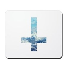Cloudy Cross Mousepad