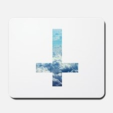 Cloudy Cross Mousepad