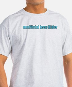 unofficial jeep rider T-Shirt
