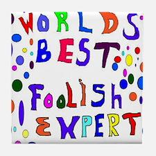 April Fools Day Tile Coaster