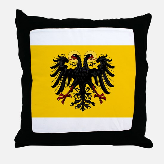 Holy Roman Empire banner - 1400-1806 Throw Pillow